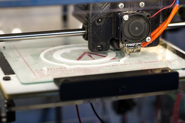 3D tiskárna v akci