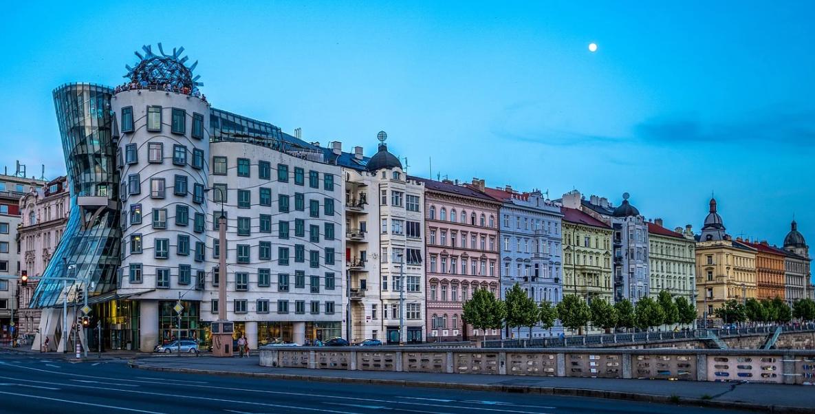 dnešní Praha