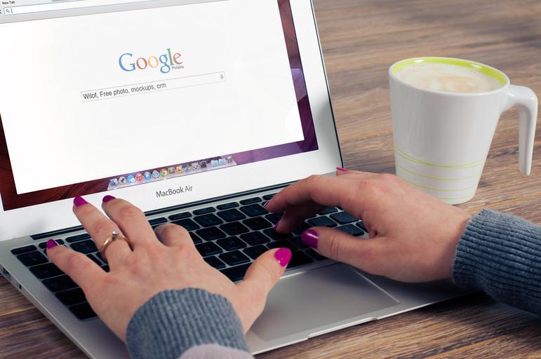 práce s Googlem